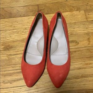 Uniqlo heeled shoes